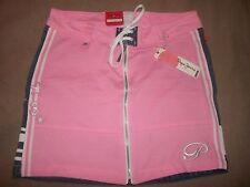 PEPE JEANS LONDON L Mini Jean skirt pink/blue denim stretch cotton (B24)