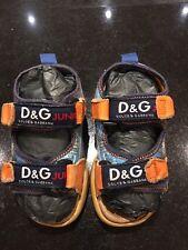 Boys D&G Dolce & Gabbana Junior sandals. EU 25.