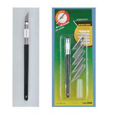 Metal Handle Hobby Knife & 5pcs Spare Blades Sharp Art Knife Cutter Craft Model
