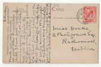 Port St Mary Isle Of Man 16 Sep 1923 Single Ring Postmark 055c