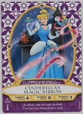 Disney Sorcerers the Magic Kingdom Card 25 Cinderella's Magic Ribbon New