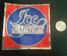 Vintage Ice Capades 50th Anniversary Decal Sticker Collectibles
