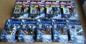 MULTI-LIST OF PLAYMATES STAR TREK SPACE TALK & FIRST CONTACT NEW ACTION FIGURES
