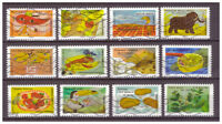 Serie Los sentidos de Francia sellos adhesivos 2017