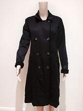 MARITHE FRANCOIS GIRBAUD Women's Black Coat Size 8 ( USA)  Like New