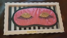 Two's Company Pink Sleeping Beauty Eye Mask New In Box!