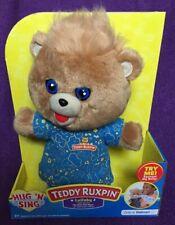 New Teddy Ruxpin Hug N Sing Childrens Interactive Stuffed Plush Toy Bear