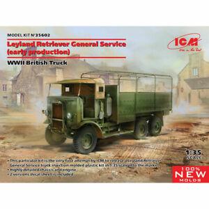 ICM 35602 Leyland Retriever General Service WWII 1:35 Plastic Model Truck Kit