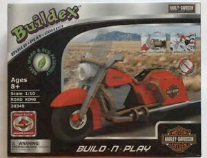 Buildex Build-N-Play Harley Davidson Road King NIB 20349