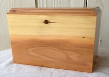 Extra Large Solid Wood Pet Cremation Urn