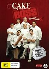 CAKE BOSS SEASONS 1 - 2 / Apron : NEW DVD