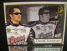 Rare David Stremme #40 Coors Light Press Pass VIP 2006 Rookie Card #93