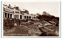 Postcard Cliff Gardens Westcliff On Sea Essex real photo