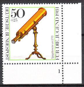 BRD 1981 Mi. Nr. 1091 Postfrisch Eckrand 4 Formnummer 1 TOP!!! (9809)