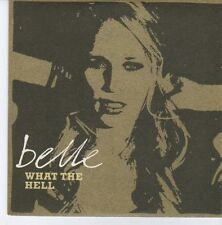 (DZ833) Belle, What the Hell - 2006 DJ CD