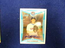 2008 Bowman Chrome Matt Harrison rookie autograph   Rangers signature  bcp243