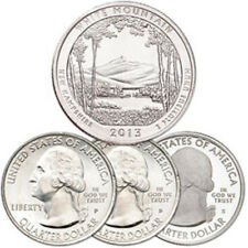 2013 WHITE MOUNTAIN NATIONAL FOREST QUARTER SET P+D+S- STRAIGHT FROM THE MINT!!!