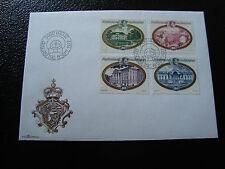 LIECHTENSTEIN -enveloppe 1er jour timbre/stamp Yvert et Tellier n°621 a 624 (Z2)