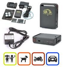 GPS Tracker für Auto Motorrad  Kinder Senioren SOS Funktion KFZ SMS GPRS TK102 C