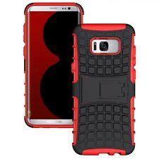 Custodia Ibrida 2teilig Esterni Rosso custodia per Samsung Galaxy S8 Plus G955F