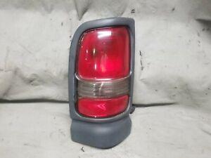 1994-2002 Dodge Ram 1500 2500 3500 Left Driver Genuine Oem tail light 73 1D4