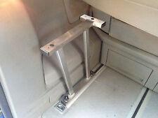 VW T5 MULTIVAN multiflexboard Console + pezzo-t, Acciaio Inox, Estensione LETTO