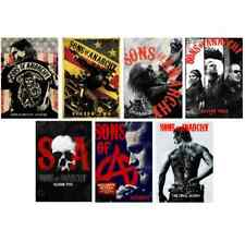 Sons of Anarchy DVD ALL Season 1-7 Complete DVD Set Collection Series TV Lot Box