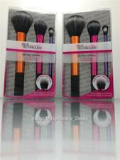 Sam & Nic Real Techniques Duo-Fiber Face Eye Contour 3pcs Makeup Brush 01414 2PK