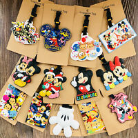 mickey minnie littlemy PVC Anime Luggage Tag Travel Label boarding tags new