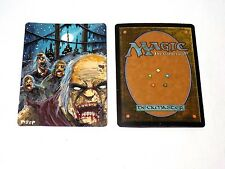 Altered Magic the Gathering Original Painted Zombie Token  MtG Card