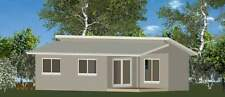 1 Bedroom DIY Granny Flat Kit - The Seascape 50 for Your Slab - CGI Wall Sheets