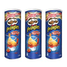 3 x Pringles Tomato Ketchup Flavor Potato Chips 165g 5.3oz
