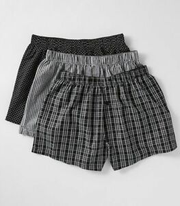 Maxx 3 Pack Mens Woven Boxers
