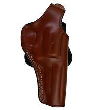 Beige Right-Hand Cebeci Leather Executive Shoulder Rev 20986 Ruger GP100 Revolver Holster