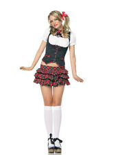 SALE!  Lil' Miss Naughty Schoolgirl Costume, Leg Avenue, 6-14, College, Campus