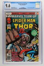 Marvel Team-Up #70 - Marvel 1978 CGC 9.6 Thor. Havok and Living Monolith Appeara