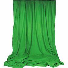 Chromakey Green Premium Solid Muslin Backdrop 10' x 24' Backdrop Alley