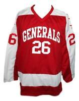 Any Name Number Greensboro Generals Retro Custom Hockey Jersey Red
