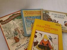 Vintage Lot of 4 children's books 1965,1968, 1969, &. 1974