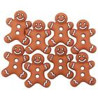 """Dress it Up """"Iced Cookies"""" Buttons Christmas Gingerbread"""