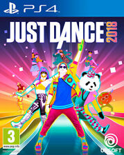 Just Dance 2018 PS4 Playstation 4 UBISOFT