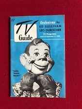 "1950, Howdy Doody, ""TV Guide"" (RARE) (No Label) (Blue Version)"