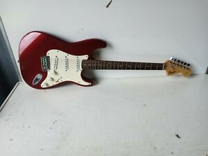 Fender Squier Strat Electric  6 String Guitar Fully Working