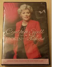 Cynthia Spell BROKEN INTO BEAUTIFUL 3-dvd Set Brand New ~Christian Faith Therapy