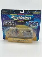 Star Wars Micro Machine Millennium Falcon-Jawa Sandcrawler X-Ray Fleet 1996