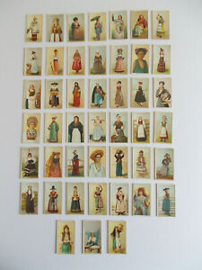 CIGARETTE CARDS BY WILL'S OVERSEAS - GIRLS OF ALL NATIONS
