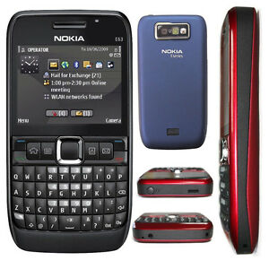 100% Genuine Nokia E63 QWERTY Keypad Wifi 3G Camera MP3 Unlocked Mobile Phone