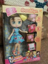 Boxy Girls Brooklyn Doll & 12 Fashion Surprises 762IT Shoes Outfits New In Box