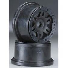 Pro-Line 2719-03 Rear Split Six Black Bead-Loc Wheel Set (2) HPI Baja 5T