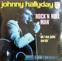 CD SINGLE PROMO JOHNNY HALLYDAY ROCK'N ROLL MAN RARE COLLECTOR NEUF SOUS BLISTER